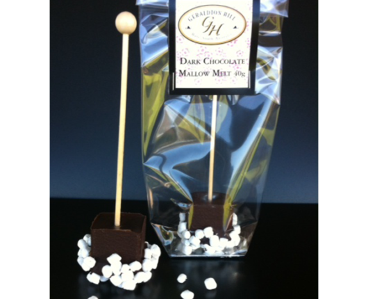 Geraldton Hill Dark chocolate mallow melts