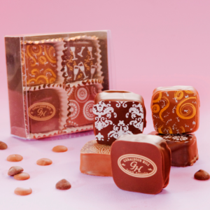 Geraldton Hill Chocolate Almond Toffee Box of Four
