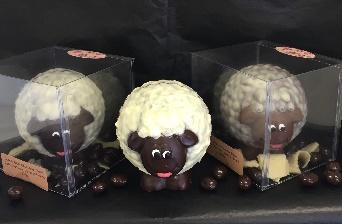 3 Artisian Sheep Chocolates