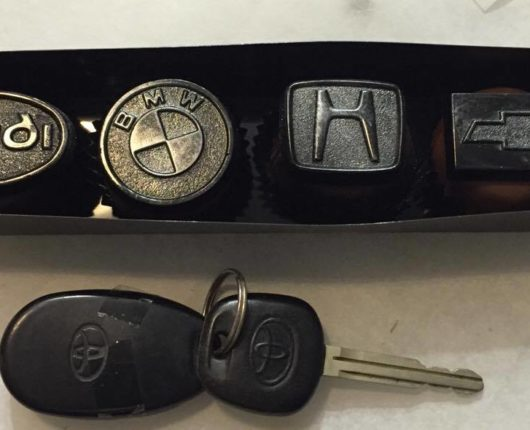 Car Emblem box of 4 120g